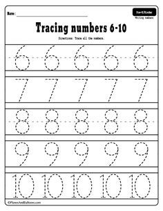 Numbers 1 20 Tracing Worksheets With Images Tracing Worksheets