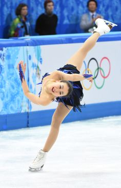 Feb 20, 2014; Sochi, RUSSIA; Mao Asada of Japan performs in the ladies free skate program during the Sochi 2014 Olympic Winter Games at Iceberg Skating Palace. (Robert Deutsch-USA TODAY Sports) (2104×3280)