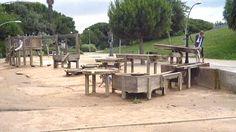 Jardines de Joan Brossa: un paseo poetico para grandes y diversión para peques en Montjuic, Barcelona