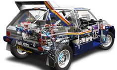 Rothmans Metro 6R4 Group B Rally Car