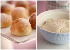 Myke og fine frokostrundstykker - Passion For baking Ice Cream, Pudding, Cheese, Baking, Desserts, Food, No Churn Ice Cream, Tailgate Desserts, Deserts
