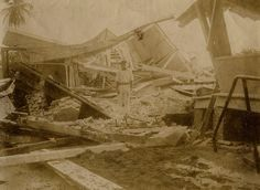 Earthquake Damage, Port Royal, #Jamaica, 1907 by The Caribbean Photo Archive