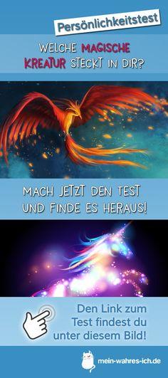 Welche magische Kreatur steckt in dir? Teste dich jetzt!  #meinwahresich #persönlichkeitstest #magisch #kreatur #magischekreatur #phönix #einhorn