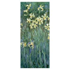 Bring gallery-worthy appeal to your walls with this artful canvas giclee print of Claude Monet's The Yellow Irises.  Product:...