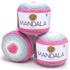 Lion Brand Yarn Mandala Classic Novelty Yarn Unicorn Pink Pack of 6 #LIONBRANDYARN