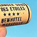 Chuuut ... Venez tous VENDANGER SOUS LES ETOILES au New Hôtel of Marseille ! Soirée insolite et secrète. Under The Stars