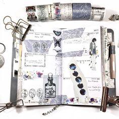 """Gefällt 178 Mal, 17 Kommentare - Lala♥ a journaling plannernerd (@lalaandbeyond) auf Instagram: """"-same washi, two weeks- Mein Beitrag zur #samewashichallenge bevor sie vorbei ist ♡ @plannerphie"""""""