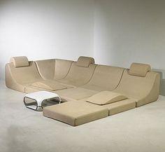 "Seating ""Pool"" by Luigi Colani, 1970"