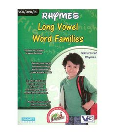 Shop For Little Learners Rhymes Long Vowel Word Families @ Rs 125