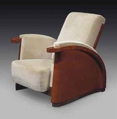 Art Deco chair by JEAN DUNAND (1877-1942)