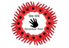 Remembrance Day Activities Maybe paint the fingers green to look like a wreath Poppy Craft For Kids, Art For Kids, Crafts For Kids, Arts And Crafts, Remembrance Day Activities, Remembrance Day Poppy, Paper Plate Poppy Craft, Memorial Day, Hannelore Drews