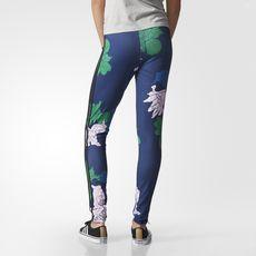 adidas - Floral Engraving Leggings
