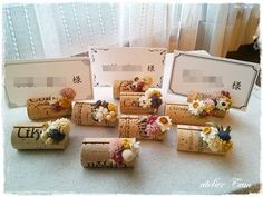 Bridal Shower Decorations Diy - New ideas Wedding Notes, Wedding Gifts For Guests, Wedding Place Cards, Wedding Paper, Diy Wedding, Cork Art, Deco Floral, Deco Table, Bridal Shower Decorations