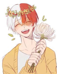 Todoroki Shouto's Birthday [1.11]♡ He should smile more