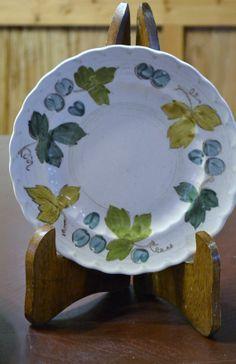 Metlox Vernon Ware Vineyard Salad Plate Set of by PanchosPorch, $40.00