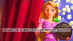 How anyone can claim to hate Tangled is just beyond me.
