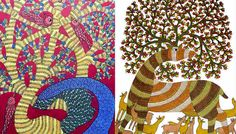 Western countries love Indian tribal art but in India, art is vanishing