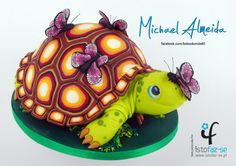LOVELY TORTOISE - Cake by Michael Almeida