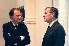 Billy visited President George H. W. Bush in 1991 at the White House.