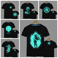 SKU: 500264 Made of cotton, glows in the dark and comes in 9 different style variations. You can't find this anywhere else! A comfortable and stylish tee for any hardcore Dragonball Z fan. PRICE DROP! - Visit now for 3D Dragon Ball Z shirts now on sale!