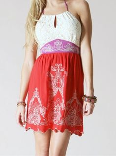 Flying Tomato Halter Dress [CDID11223] - $40.00 : ShopBloved, Live Laugh and Bloved