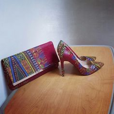 Shoes, African print shoes, African heels African dresses, African clothing, ghana clothing, ankara, African print, kente print, kintenge,zabbadesigns, Nigerian fashion, Ghana fashion, Liberian fashion , Dashiki print zabbadesigns.com