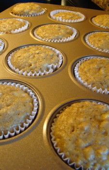 Healthy peanut butter banana muffins...great after school snack for kids!  #examinercom