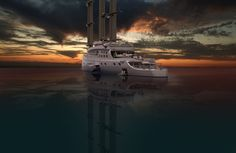 Explorer Yacht, Expedition Yachts, Yacht Design, Super Yachts, Boating, Ships, Construction, Future, Water