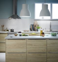 Smart lighting from IKEA gives you the power to turn on and off, dim, and change the color of the lights throughout your home remotely. Ikea Kitchen, Kitchen Cabinets, Kitchen Ideas, Ikea Portugal, Cabinet Fronts, Cabin Kitchens, Studio Kitchen, Double Vanity, Home Projects