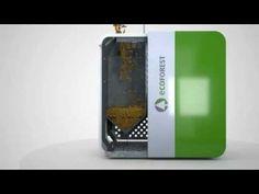 Caldera de pellet Ecoforest modelo Cantina nova