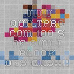 www.quiltpro.com  100's of quilt block designs!!!!