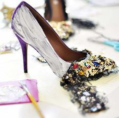 DIY Dolce and Gabbana Shoes