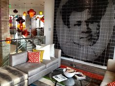 The Alexander Hotel inIndy has some amazing spaces where art meets man in a unique way. (c) GTH & Marc Kassouf
