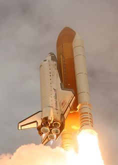 Space Shuttle soars into history on its final mission!