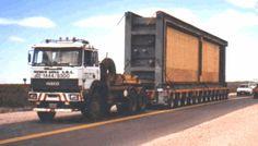 Schwertransport - Schwerer Maschinentransport