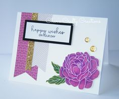 CTMH Live Beautifully card by Char's Crafty Creations