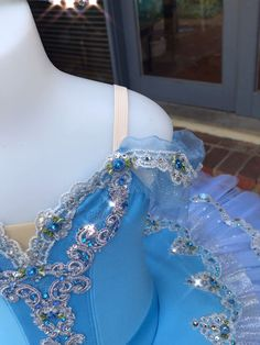 Blue and silver tutu Tutus D'amore, Ballet Tutu, Dance Costumes Ballet, Tutu Costumes, Ballet Dance, Ballerina Photography, Sleeping Beauty Ballet, How To Make Tutu, Ballet Beautiful, Dance Dresses