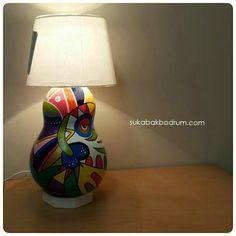 Www.sukabakbodrum.com Gourd Lamp, Gourds, Tricks, Lanterns, Table Lamp, Lights, Crafts, Lamps, Decoration