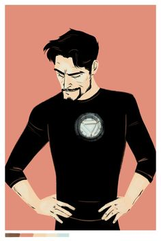 Tony Stark (art by erinkkavanagh)