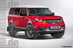 Land Rover Defender (2019) (render)