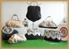 Bolsos boquilla hechos a mano vintage by Lolitasala Frame bag by LolitaSalá. #VintageBag #LaceBags #Wedding #WeddingBags #Bridalbags #Shabby chic #Bridal #BrideBags #FrameBags #Handmade #Lace #BolsosdeNovia #BolsosdeCeremonia #Bolsosvintage #Vintage #Bolsos #De Moda #DIY #Tela #Patrones #Hacer #Patchwork www.lolitasala.es