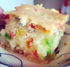 Confetti Coconut Cake - Butter Mochi I have been tinkering with my favorite Hapa recipe of Butter Mochi. I decided to try and make confetti...