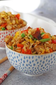 Quick & Easy Chinese Pork Fried Rice