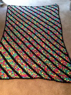 """From fan Kathy Warner Moutray: """"Blacklight with black border"""""""
