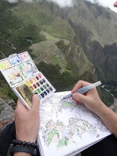 Urban Sketchers: My journey to Machu Picchu