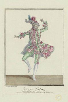 1779 Paysan Galant: Habit en usage dans plusiers Ballets.