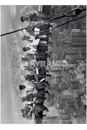 Lunch on a Skyscraper Giant Poster