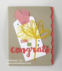 Sunshine Sayings Bundle Congrats - Barbstamps!! Barb Mullikin Stampin' Up! Demonstrator
