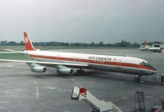 Douglas Dc 8, Britain, Canadian Airlines, Aviation, Aircraft, Canada, Planes, Fun, Airplanes