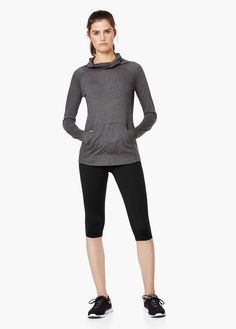 Fitness & running - camiseta manga larga   MANGO